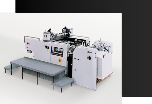 MS80全自動スクリーン印刷機